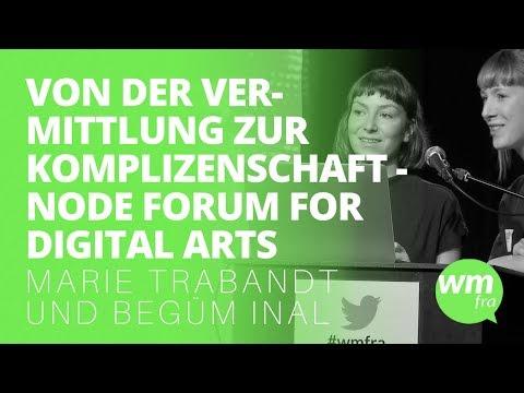 #wmfra 93 - Von der Vermittlung zur Komplizenschaft - NODE Forum for Digital Arts