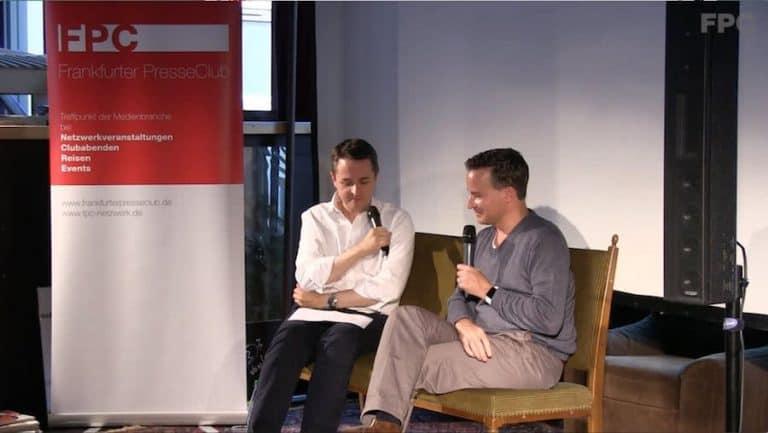 Frankfurter PresseClub mit Richard Gutjahr
