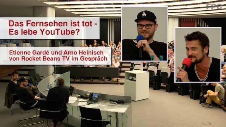 RocketBeans TV beim Frankfurter PresseClub