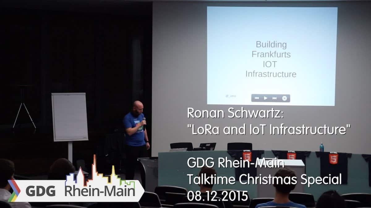 GDG Rhein Main Talktime