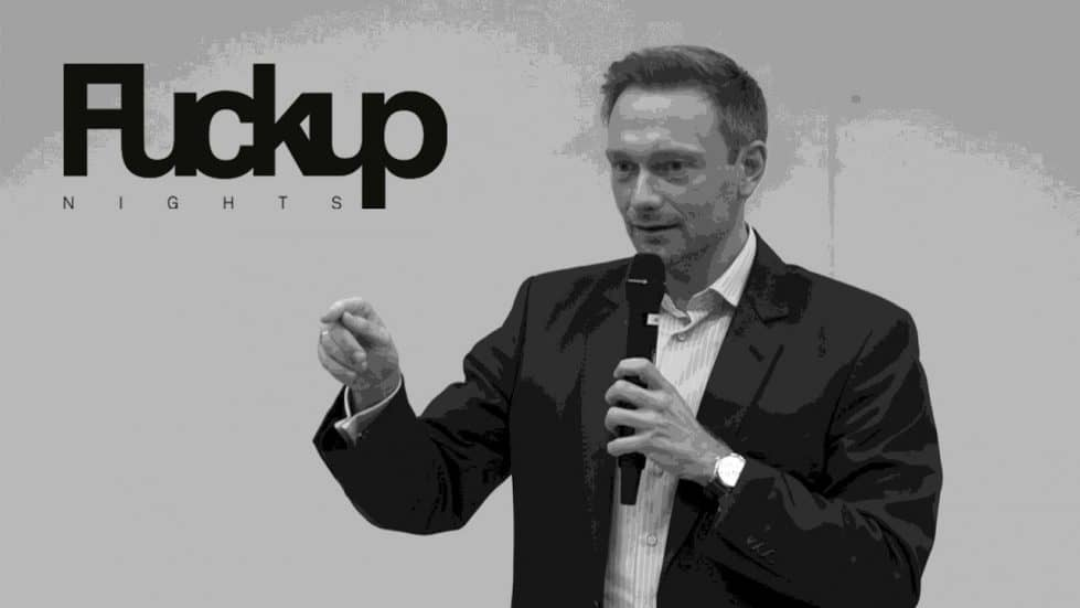 Fuckup Nights Vol. 4 - Christian Lindner