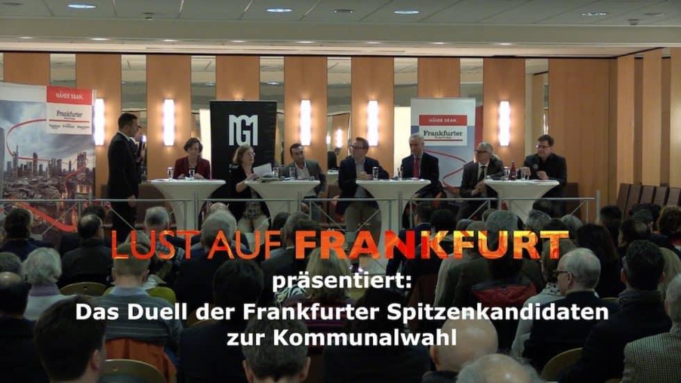 Lust auf Frankfurt - Kommunalwahl Diskussion