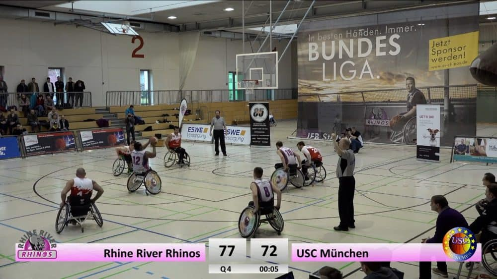 Rhine River Rhinos vs. USC München