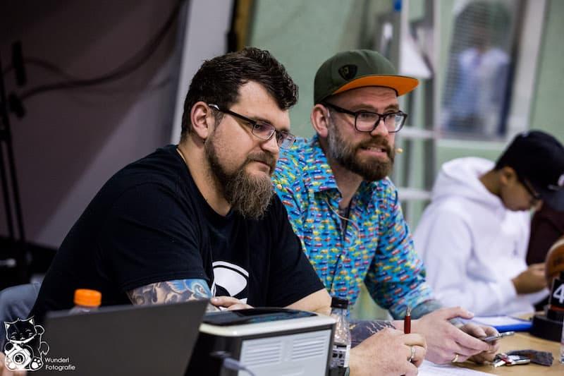 Moderations-Dream-Team: Sebastian Spitznagel und Martin Schenk