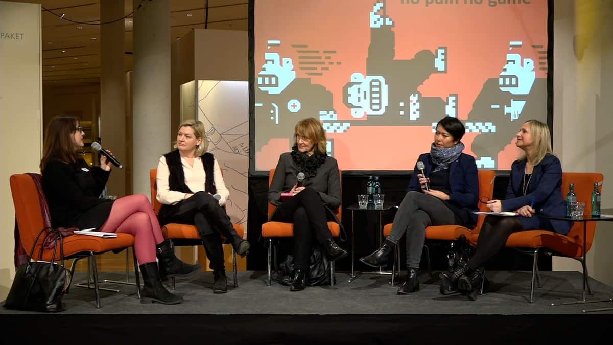 Women go Digital Podium