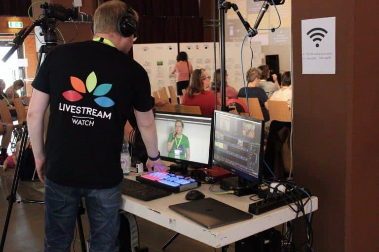 Livestream beim Literaturcamp Heidelberg