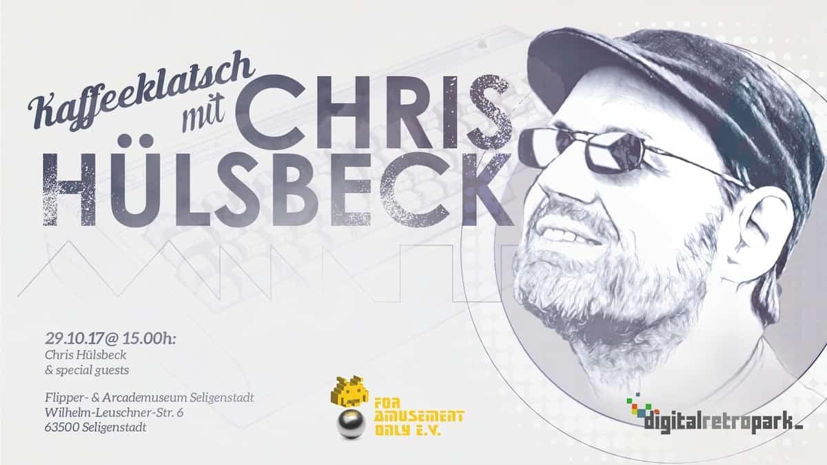 Kaffeeklatsch mit Chris Hülsbeck