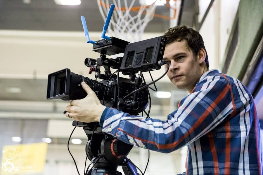 Livestream Produktion - Kameramann