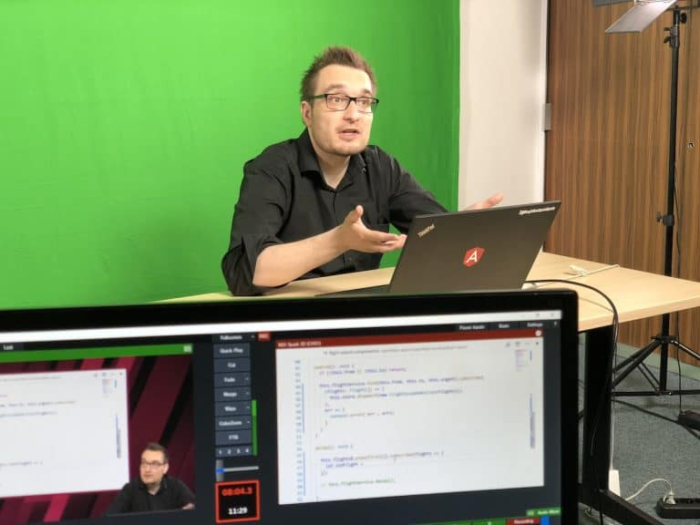 Videotutorials - Produktion mit Manfred Steyer