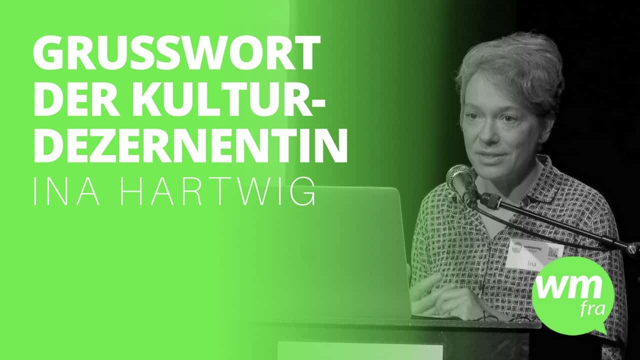 Webmontag Frankfurt 93 Ina Hartwig