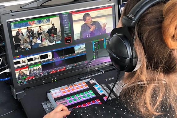 Livestream Frankfurt - Bildmischung