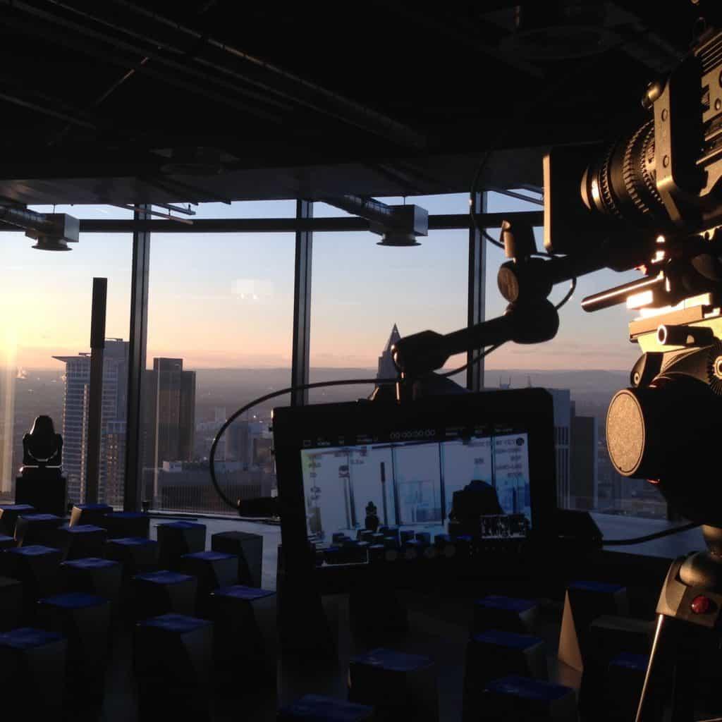 Eventfilm Produktion - Blick auf Skyline