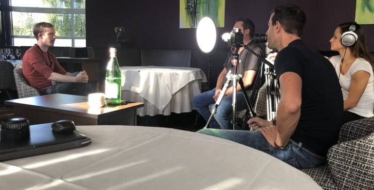 Imagefilm Produktion - Interview mit Kamerateam
