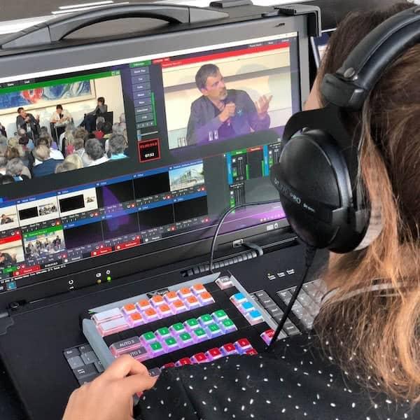 Livestream Anbieter - Bildmischung am Set