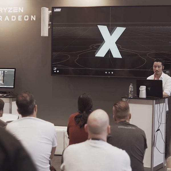 Livestream Produktion - Redner vor Publikum